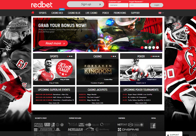 RedBet Casino - Review and Ratings - SlotRunners