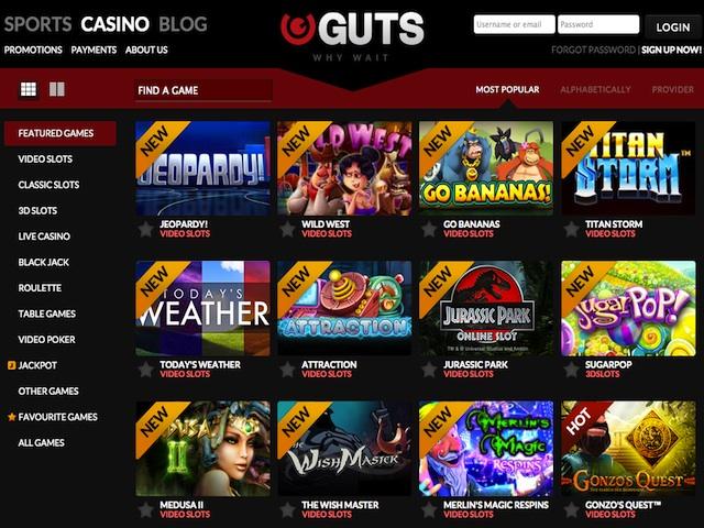 guts online casino australia