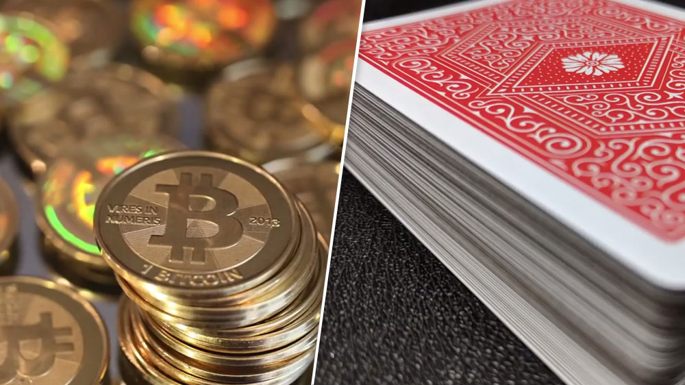 bitcoin and poker