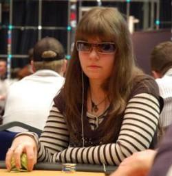 Annette, un pro du poker