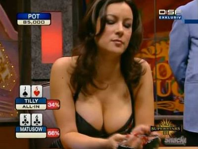 Jennifer Tilly, actress and poker star