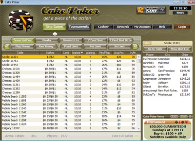 Cake Poker screenshot