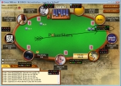 head-up display (HUD) on pokerstars