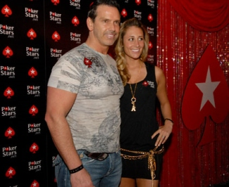 PokerStars Chad Brown and wife Vanessa Rousso